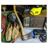 Mini Shop Back, Radio, Jigsaw, Ax, Bowling Shoes