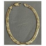 """14k Gold 8"""" Bracelet 5dwt"""