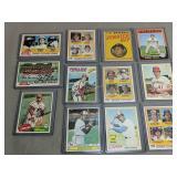Collection of baseball cards. Philadelphia