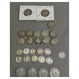 US coins. Buffalo had nickels, mercury dimes,