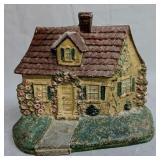 Cast Iron Country Cottage House Doorstop