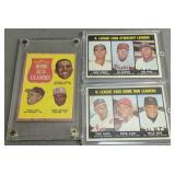3 Baseball Cards. 1962 Topps Willie Mays Frank