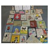 Collection Of Vintage Greeting Cards, Ron