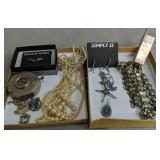 Costume Jewelry, Hand Counter, Spencerian Match