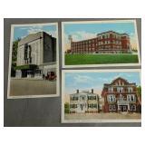 3 Milford Delaware Postcards. New Theater, Caulk