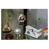 Spode Christmas Tree Sleigh, Christmas Ornaments