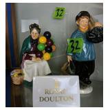 Royal Doulton The Balloon Seller, Master Sweep,
