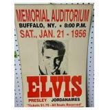 Elvis Poster Memorial Auditorium Buffalo New