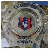 Chicken Box Seafood Rehoboth Delaware Ashtray