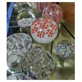 Milifiori Paper Weights, Flower Frogs