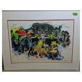 Signed Numbered Art Print Clowns, Party
