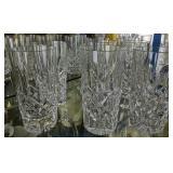 "8 Waterford Crystal 5.5"" Water Glasses"
