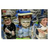 Royal Doulton Doltonville Collection Toby Mugs,