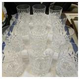 """12 Waterford Crystal 4.25"""" Rocks Glasses"""