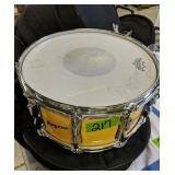 Rogers 6 1/2 X 14 Maple Snare Drum W Soft Case