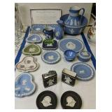 Wedgwood Bowl, Picture, Ashtrays, Smoking Set Etc
