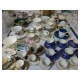 Teapot, Cups Saucers, Children