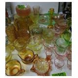 Depression Glass Etc