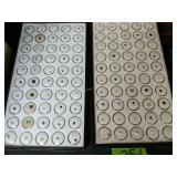 2 Trays Of Cut Semi-precious Stones #2