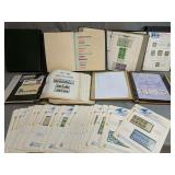 Shelf Lot Of Stamps. First Day Covers, Foreign,