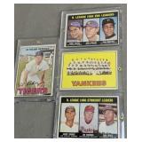 1967 Topps Baseball Cards. Al Kaline, Yankees