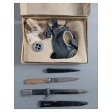 3pc WWII German Military Lot