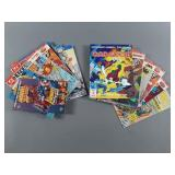 15pc Super Hero RPG Strategy Game Book Lot