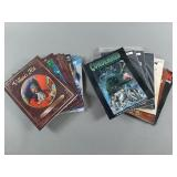 13pc Mixed RPG Strategy Game Book Lot w/ 7th Sea