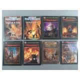 8pc Dungeons & Dragons Book & Module Lot