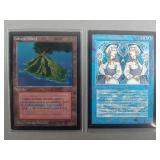 Magic the Gathering Collector Ed Duel Land Cards