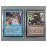 2pc Magic the Gathering Antiquities Cards