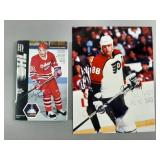 2pc Eric Lindros Signed Lot