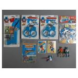 Vtg Marvel & DC Collectibles & Toy Lot