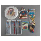 Vtg Superman Collectibles Lot w/ Watches NIP