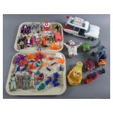 Vtg Kenner Ghostbusters Lot w/ Ecto-1