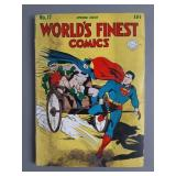 Golden Age DC Worlds Finest #17 Comic Book