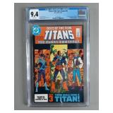 CGC 9.4 Tales of the Teen Titans #44 Comic Book