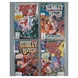 1993 Scarlet Witch Limited Series #1-4 Comics