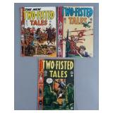 3pc Golden Age EC Two-Fisted Tales Comics
