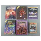 6pc Dungeons & Dragons Books & Game Lot