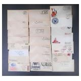 22pc US Naval Covers Lot