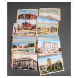 85pc Antique US Postcards Lot