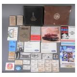 1910-1988 Car Ephemera Lot