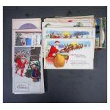 Antique Christmas Postcards Lot