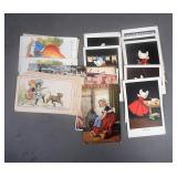 Antique Comical Postcards Lot