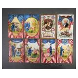 Antique Patriotic & Holiday Postcards Lot