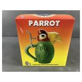 Schultz & Dooley Parrot Stein Unused in Box