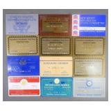 1980-1986 Political Membership Cards