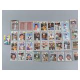 36pc 1977 Topps Baseball Cloth Sticker Patches