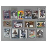 15pc Modern Sports Insert, Relic & Signed Cards